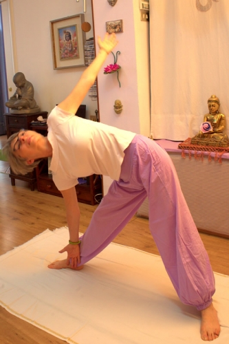 Luciana Zangheratti, insegnante di Yoga